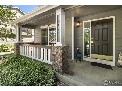Fort Collins Single Family Home For Sale: 633 Agate Ct