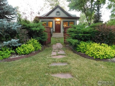 Fort Collins Single Family Home For Sale: 211 E Prospect Rd