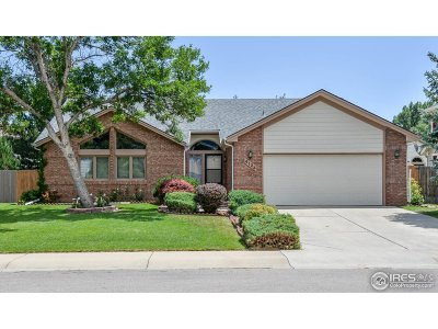 Fort Collins Single Family Home For Sale: 4124 Suncrest Dr