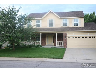 Fort Collins Single Family Home For Sale: 3209 Grand Teton Pl
