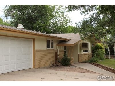 Longmont CO Single Family Home For Sale: $395,000