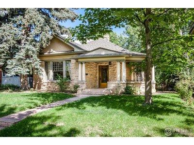 Boulder CO Single Family Home Active-Backup: $1,750,000