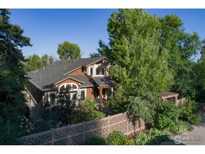 Boulder CO Single Family Home For Sale: $2,750,000