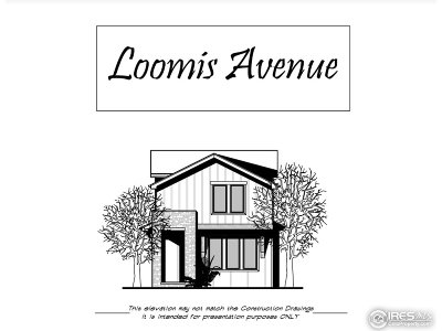 Single Family Home For Sale: 346 N Loomis Ave