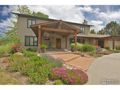 Longmont CO Single Family Home For Sale: $850,000