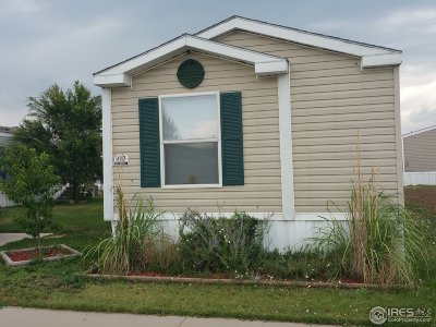 Weld County Single Family Home For Sale: 435 N 35th Ave #483