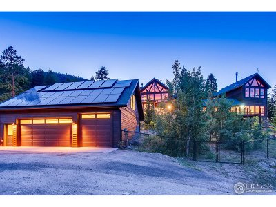 Estes Park CO Single Family Home For Sale: $1,450,000