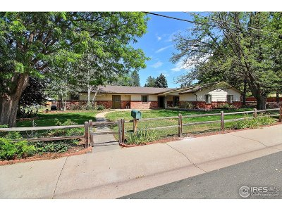 Greeley Single Family Home For Sale: 1754 36th Ave Ct