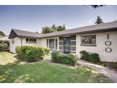 Denver Single Family Home For Sale: 100 Monaco Pkwy