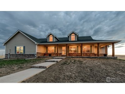 Fort Collins Single Family Home For Sale: 46702 County Road 17