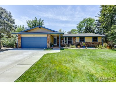Boulder Single Family Home For Sale: 7800 Durham Way