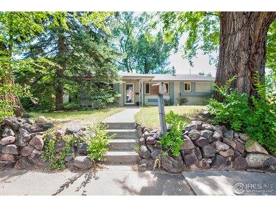 Boulder Single Family Home For Sale: 3200 Folsom St