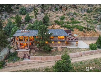 Estes Park Single Family Home For Sale: 2701 Fall River Rd