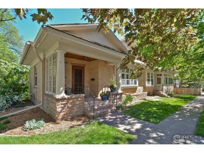 Longmont Single Family Home For Sale: 1250 Carlton Pl