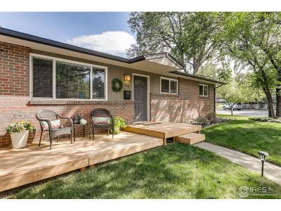 Boulder Single Family Home For Sale: 700 Toedtli Dr