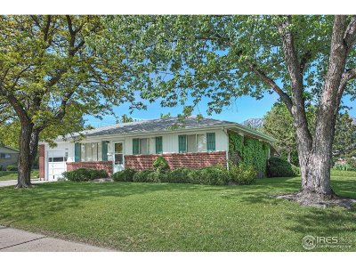 Boulder Single Family Home For Sale: 845 32nd St