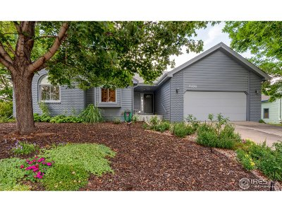 Fort Collins Single Family Home For Sale: 2406 Coventry Ct