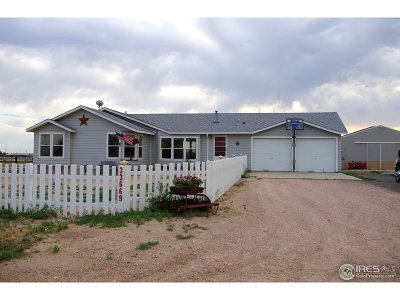 Gill Single Family Home For Sale: 33669 County Road 61.75