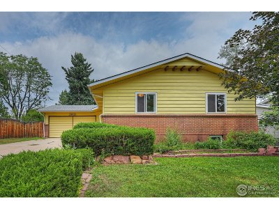 Boulder Single Family Home For Sale: 2813 Kenyon Cir