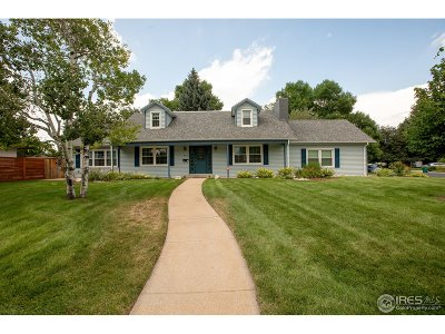 Fort Collins Single Family Home For Sale: 932 E Pitkin St