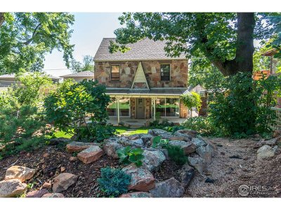 Boulder Single Family Home For Sale: 704 16th St