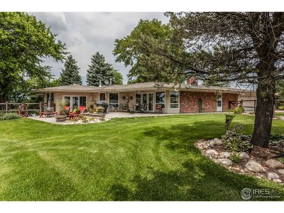 Fort Collins Single Family Home For Sale: 2317 S County Road 3