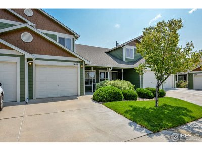 Fort Collins Condo/Townhouse For Sale: 802 Waterglen Dr #K 46