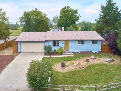 Boulder Single Family Home For Sale: 4415 Mast Rd