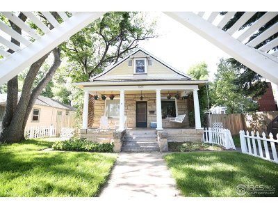 Single Family Home For Sale: 1029 Laporte Ave