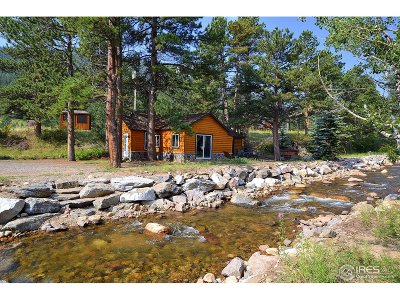 Estes Park Single Family Home For Sale: 1531 Fish Hatchery Rd