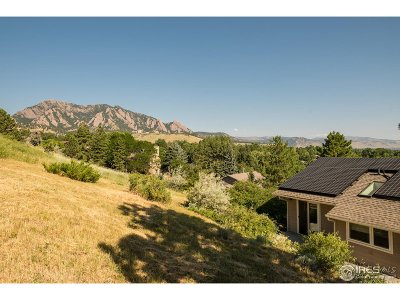 Boulder CO Single Family Home For Sale: $1,695,000