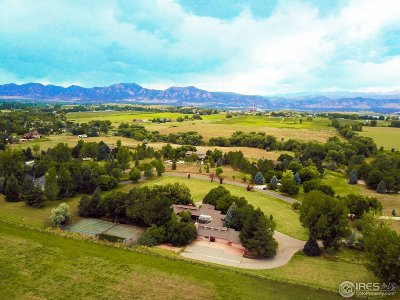Boulder CO Single Family Home For Sale: $1,690,000
