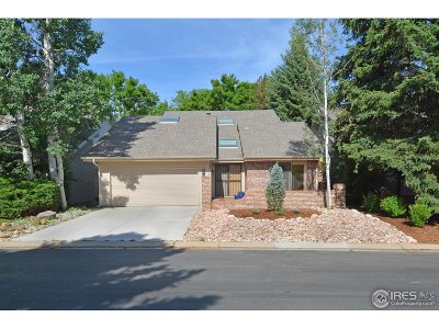 Boulder Single Family Home For Sale: 7104 Cedarwood Cir