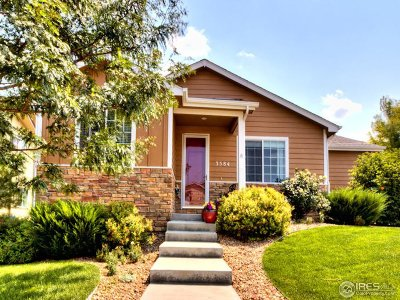 Loveland Single Family Home For Sale: 3584 Parlin St