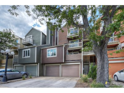 Boulder CO Condo/Townhouse For Sale: $615,000