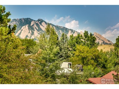 Boulder CO Single Family Home For Sale: $1,000,000