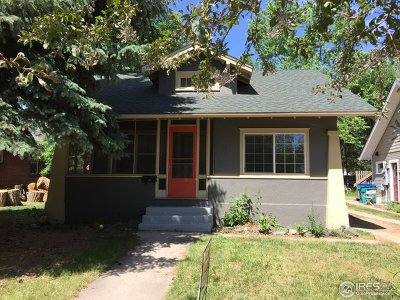 Fort Collins Single Family Home For Sale: 233 N Sherwood St