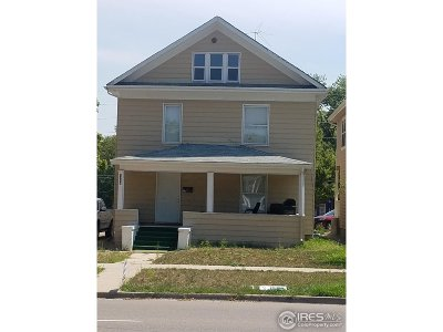 Greeley Multi Family Home For Sale: 1718 11th Ave
