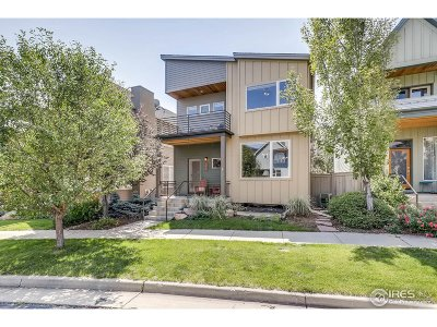 Boulder CO Single Family Home For Sale: $1,079,000