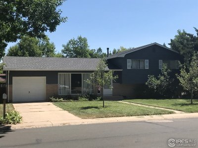 Fort Collins Single Family Home For Sale: 1420 Skyline Dr
