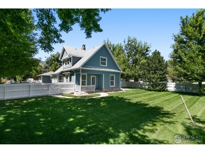 Boulder Single Family Home For Sale: 3505 Broadway St