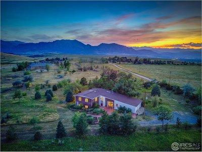 Boulder Single Family Home For Sale: 7127 Marshall Dr
