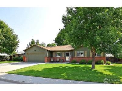 Loveland Single Family Home For Sale: 3738 N Colorado Ave