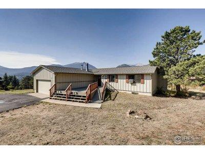 Estes Park Single Family Home For Sale: 1755 Dekker Cir