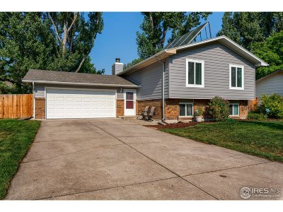 Fort Collins Single Family Home For Sale: 2819 Dundee Ct