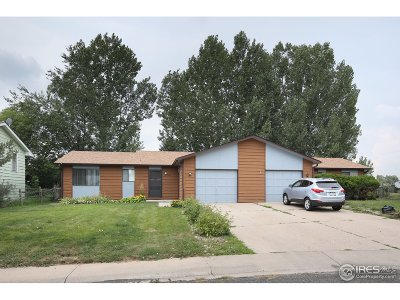 Fort Collins Multi Family Home For Sale: 725 N Hillcrest Dr
