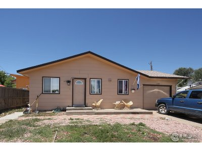 Greeley Single Family Home For Sale: 1509 N 25th Ave