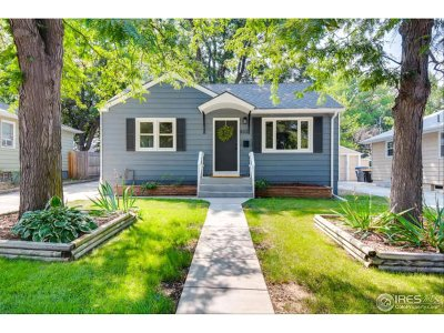 Longmont Single Family Home For Sale: 833 Vivian St