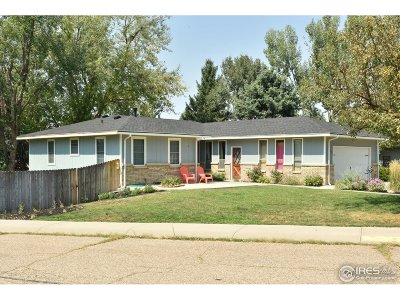 Greeley Single Family Home For Sale: 1651 36th Ave Ct