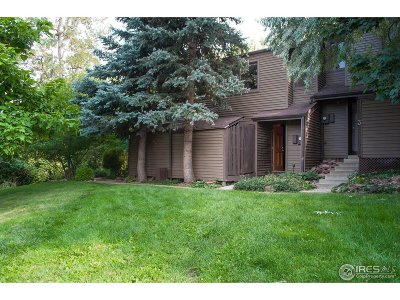 Boulder CO Condo/Townhouse For Sale: $135,000